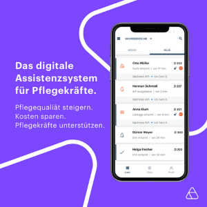 AssistMe - Digitale Assistenz für Pflegekräfte